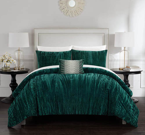 Emerald Green Bedding King Chic Home Westmont.