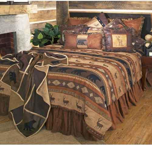 Carstens Autumn Trails 5 Piece Bedding Set, King