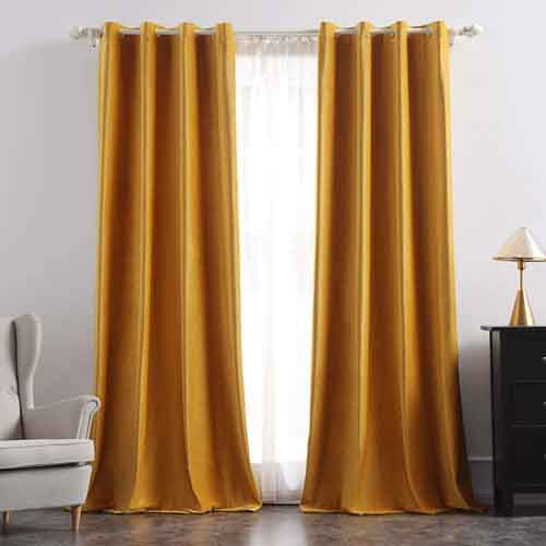 Fall Bedding Set with Matching Curtains