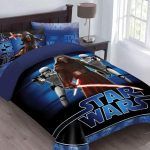 Star Wars The Force Awakens Comforter Set with Fitted Sheet, Twin